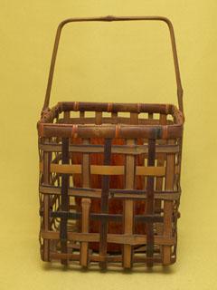 煤竹 手付置花籠