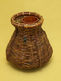 煤竹 花籠
