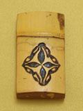 アラベスク香合 表面