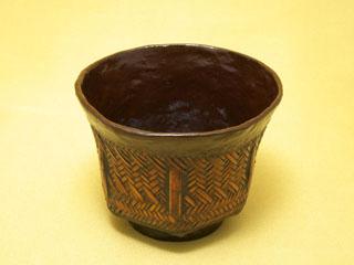 網代 六角抹茶椀