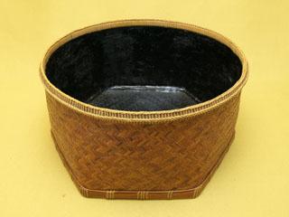 煤竹網代 炭斗