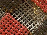側面の石畳編み
