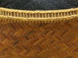 煤竹網代 炭斗 口造り