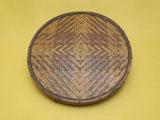煤竹網代 茶櫃 蓋