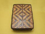 煤竹網代 硯箱
