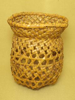 石畳編 置花籠
