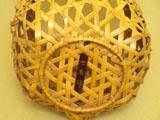 石畳編 置花籠 底